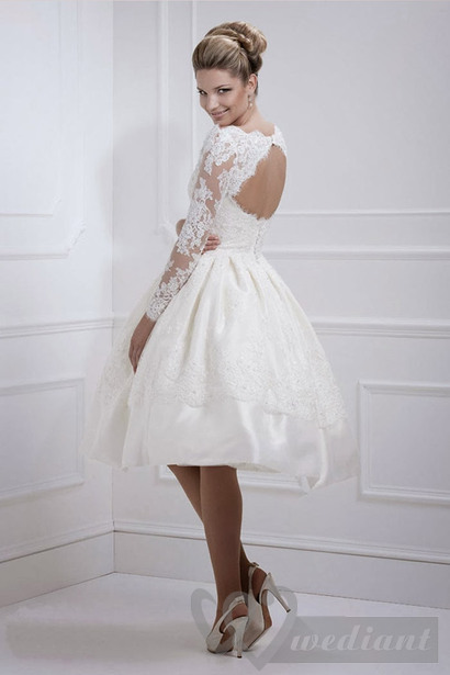 Ministyle dresses for weddings