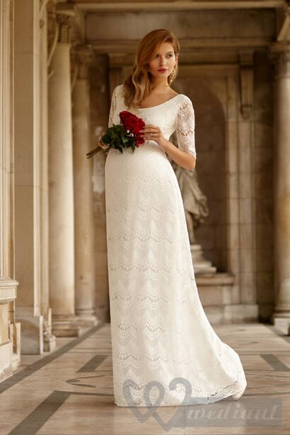 Maternity wedding dresses #4