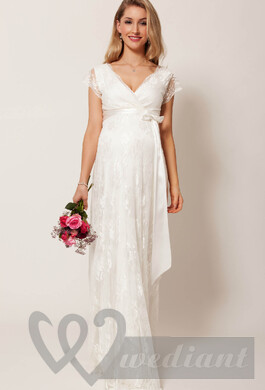 Maternity wedding dresses #1