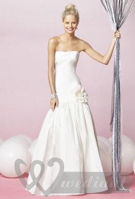 Wedding dresses for tall brides #2