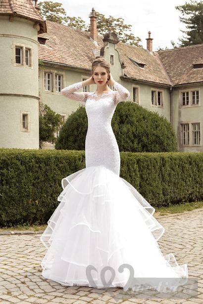 Wedding dresses for tall brides #5