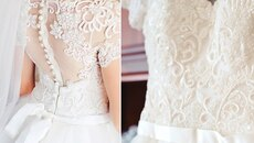 How to choose textile furniture for a wedding dress?