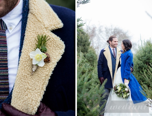 Winter fashion of the groom #1