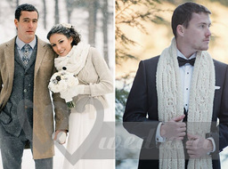 Winter fashion of the groom #2