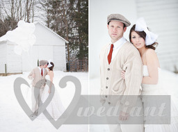 Winter fashion of the groom #3