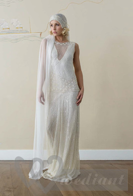 Wedding dresses in the style of 1930s #2