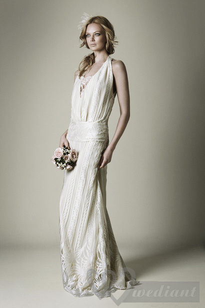 Wedding dresses in the style of 1930s #5
