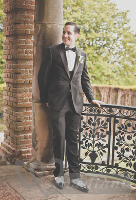 Men's suits for wedding in the style of 1930s #1