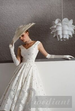 Wedding Dress of 1950s #2