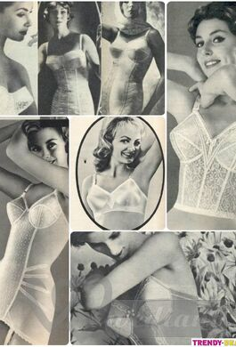 Wedding Underwear of 1950s #3