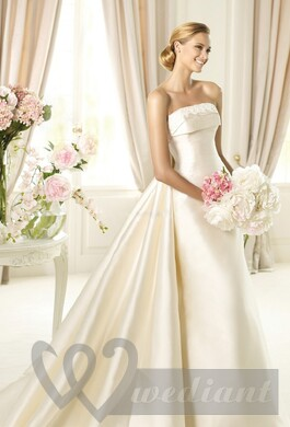 Ivory colored wedding dress #1