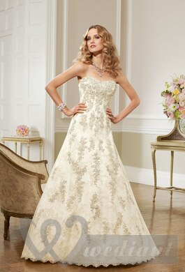 Ivory colored wedding dress #2