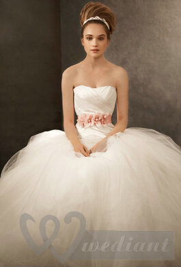 Ivory colored wedding dress #3