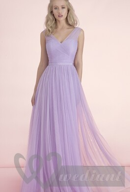 Lavender colored wedding dress #2