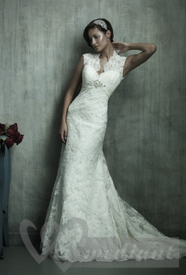 Wedding dress from guipure #9