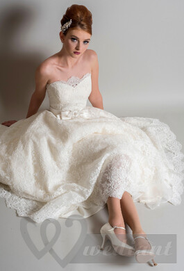 Lacy wedding dress #2