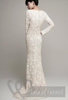 Lacy wedding dress #3