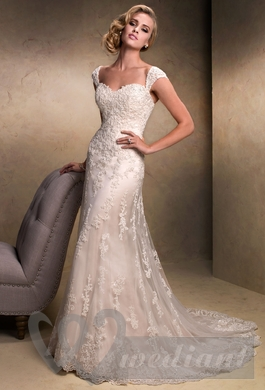 Wedding dress from guipure #3