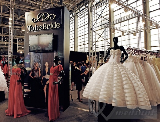 Wedding dresses on the Wedding Fashion Moscow event