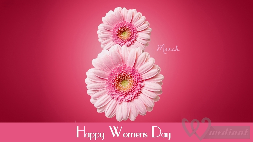 Our Greetings to All Women on the International Woman's Day
