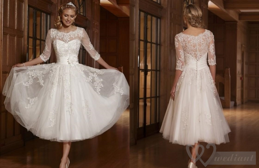 Short Wedding Dresses Became the Most Popular In Europe and USA