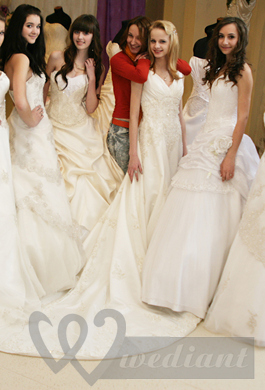 Exhivition of Wedding Dresses in Kyiv