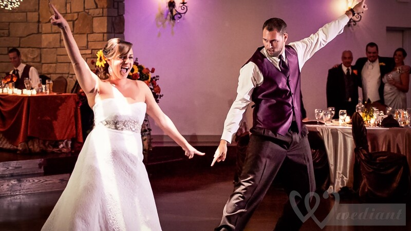 A modern wedding dance