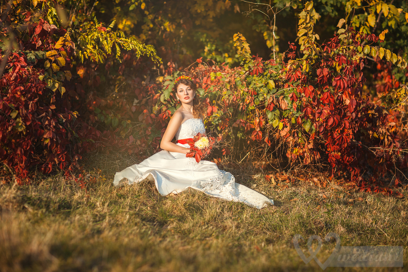 Actual autumn trends of wedding fashion in 2016