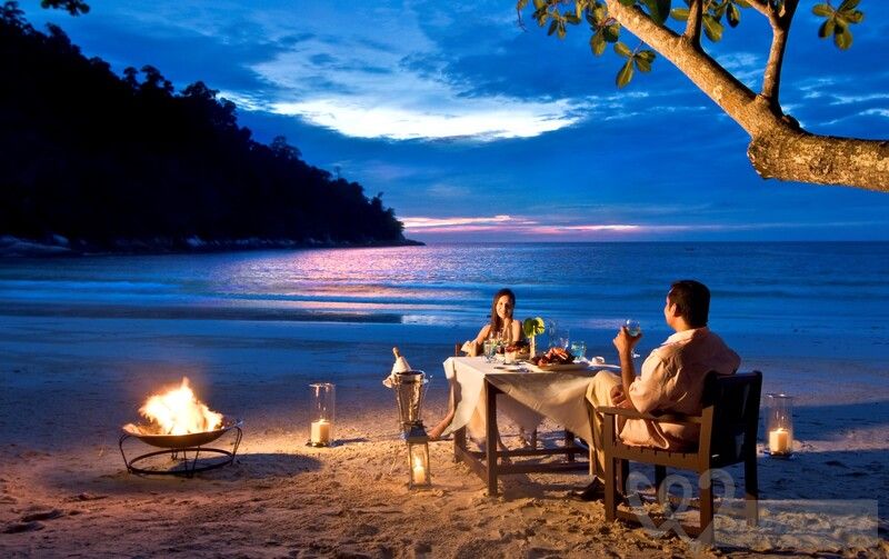 Romantic evening in GOA