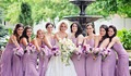 Several rules of stylish evening dresses choosing for bridesmaids before wedding celebration